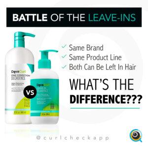Battle of the Leave-ins: Devacurl