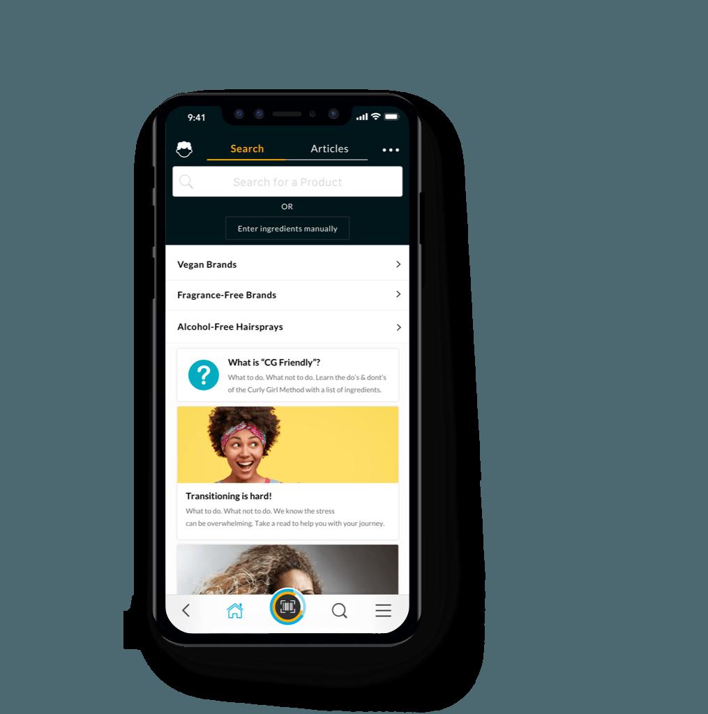 curlcheck app home header