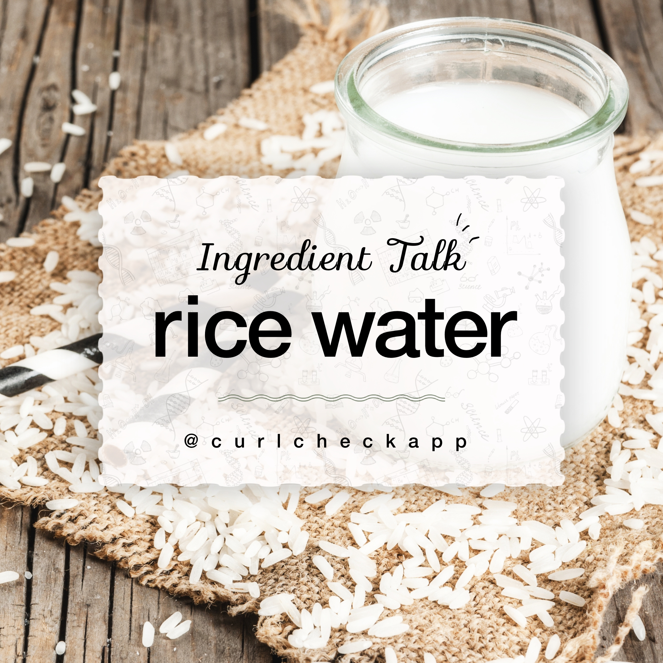 Rice Water: Myth or Miracle